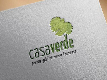 Design logo CasaVerde