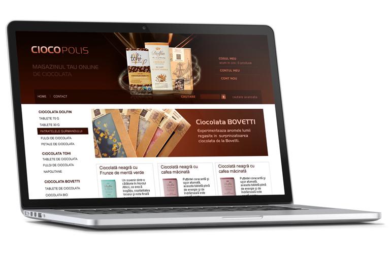 Creare magazin online Ciocopolis.ro-0