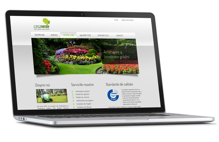 Creare site web Casaverde-0