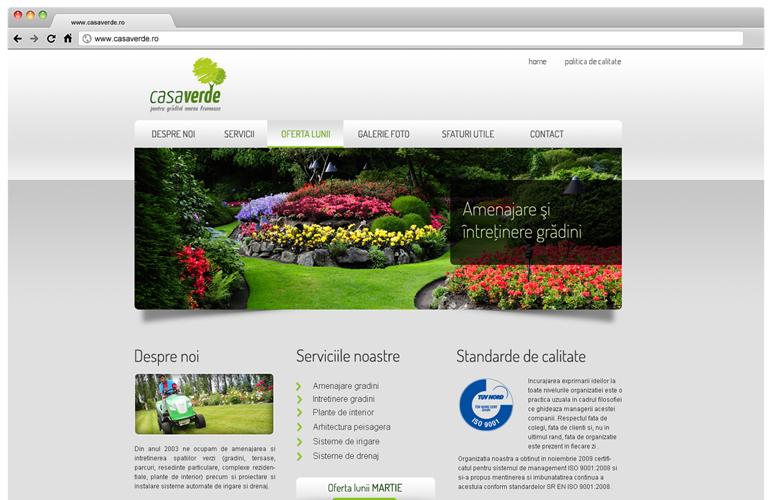 Creare site web Casaverde-1