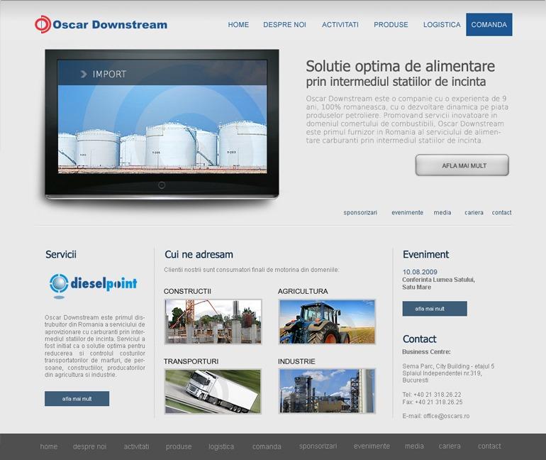 Realizare site de prezentare-1