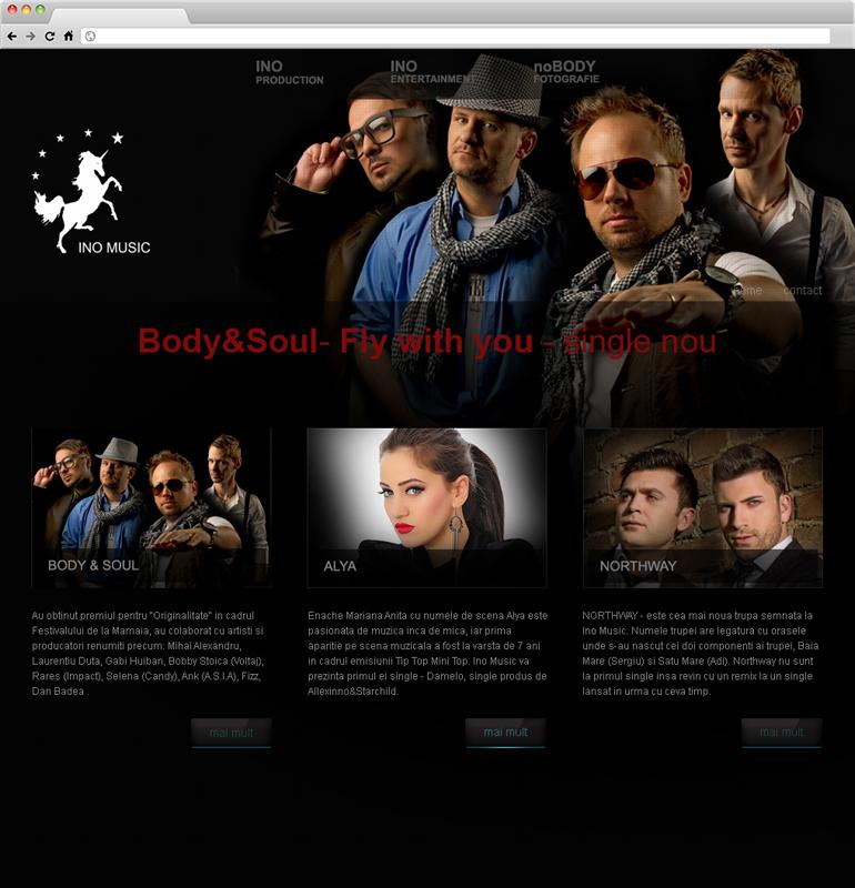 Realizare website de prezentare-1