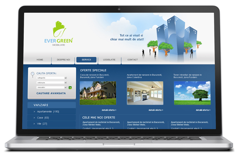 Web design site imobiliare-0