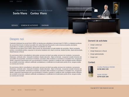 Web design site de prezentare