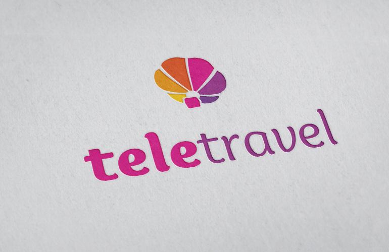 Creatie logo design TeleTravel-0