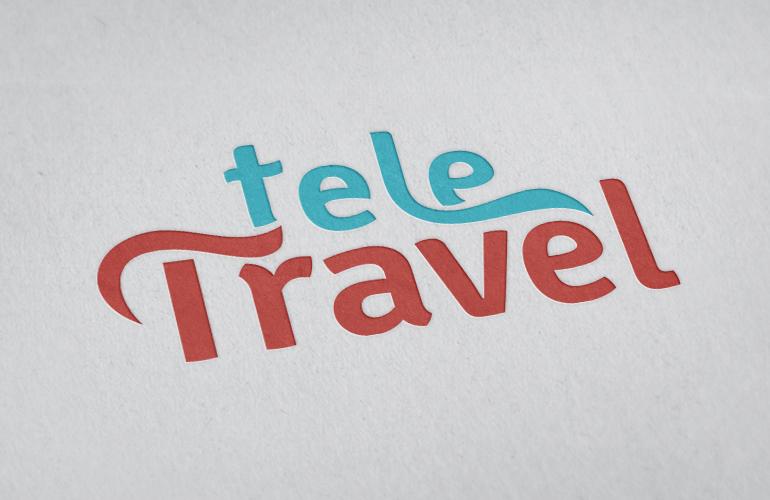 Creatie logo design TeleTravel-1