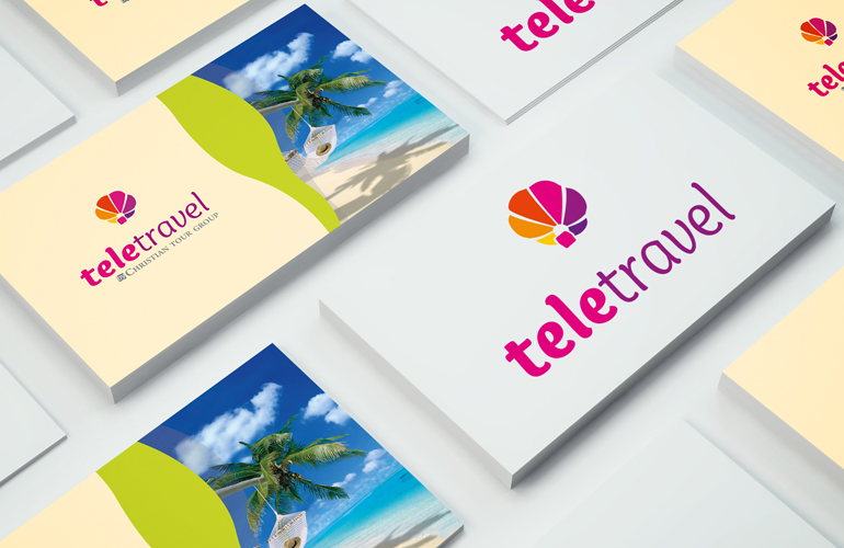 Creatie logo design TeleTravel-2