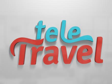 Creatie logo design Teletravel