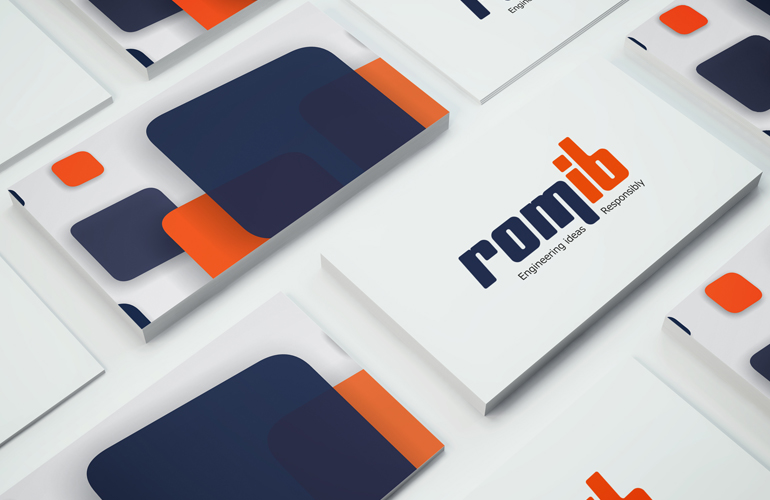 Design logo sigla firma Romib-1