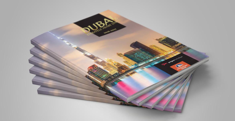 Creatie grafica brosura Dubai