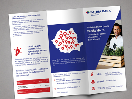 Design flyer trifold