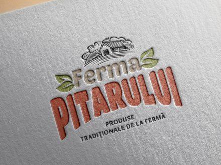 Creatie sigla Ferma Pitarului
