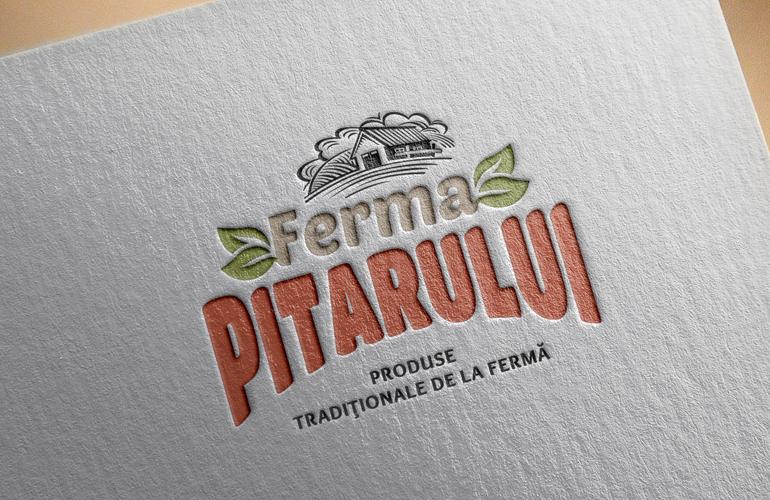 Creatie sigla Ferma Pitarului-0