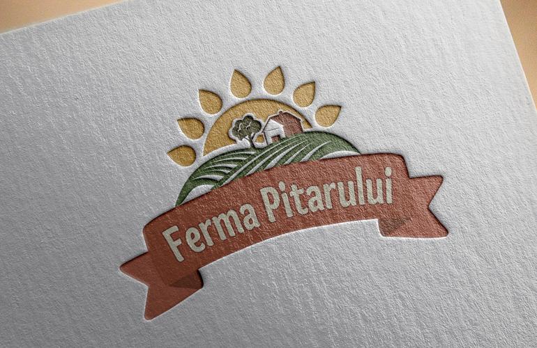 Creatie sigla Ferma Pitarului-2