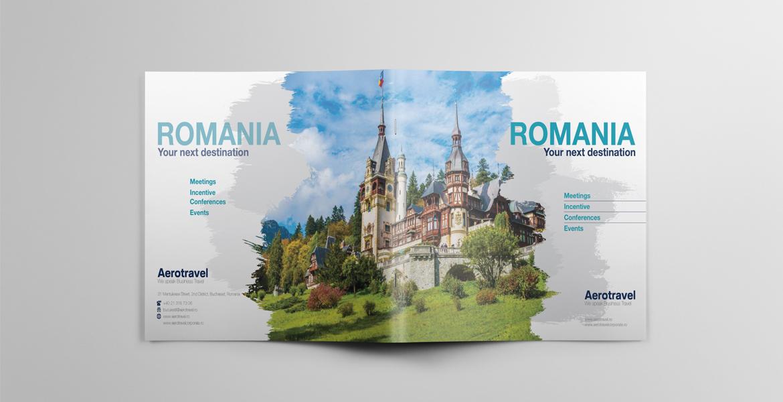 Design brosura prezentare