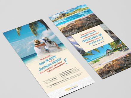 Design flyer Aerotravel
