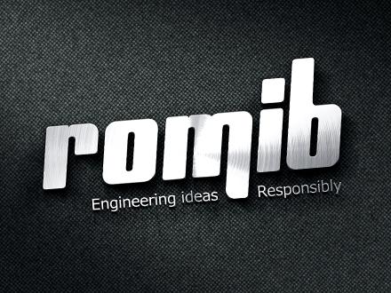 Design sigla firma Romib